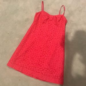 Lilly Pulitzer coral dress size 2
